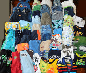 Lot of 48 items - Baby BOY clothes - 18 to 24 months old