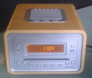 Sonoro Cubo Design CD-Radio AU-1300 GR. high quailty sound