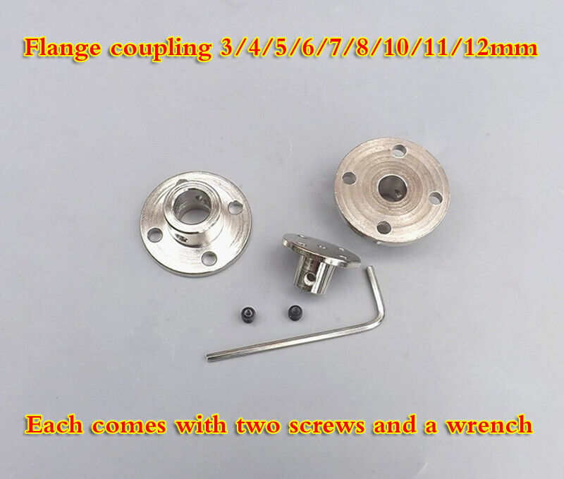 Flange coupling 3/4/5/6/7/8/10/11/12mm coupling guide shaft support accessories