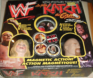 WWF - KATCH THE GAME -- Sealed in Box - Sable & Stone Cold heads Strathcona County Edmonton Area image 1