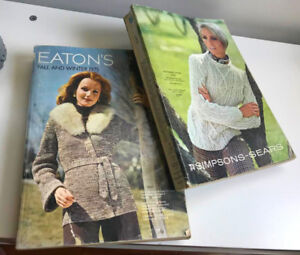 4 catalogues Eaton's Simpson's 1968 1975 1976