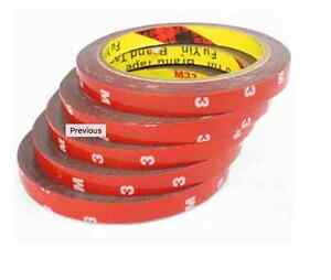 3M Auto Acrylic Foam Double Sided Attachment Adhesive Tape Truck