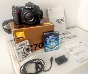 Nikon D7000 Pro Kit + Tokina 11-16mm + Nikon 55-200mm +  35mm +