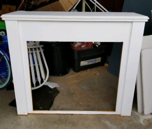 Gas insert and mantel for sale