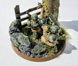 Warhammer 40k. Cadian Heavy weapons squads.(3 sets)