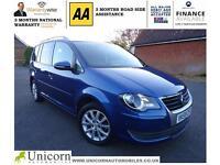 2009 Volkswagen Touran 2.0TDI ( 140ps ) ( 7seats ) Match IT WILL PARK IT SELF