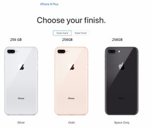 APPLE IPHONE 8 plus, gold, silver, space grey. new, unlock $1500