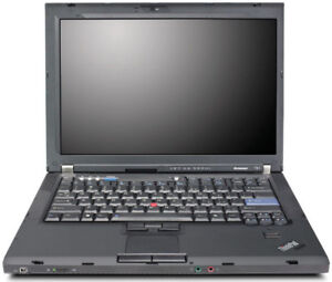 "Lenovo ThinkPad T61-15.4""-Core 2 Duo T7300-4 GB RAM-100 GB HDD"
