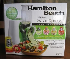New Hamilton Beach Salad Xpress Food Processor