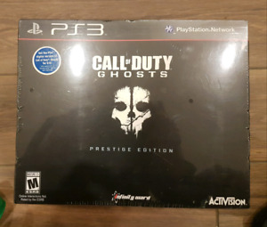 Call of Duty: Ghosts Prestige Edition for PS3 (unopened)