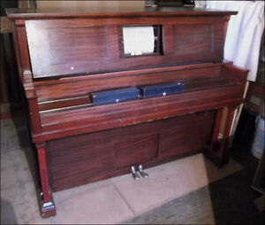 Player Piano with Scrolls