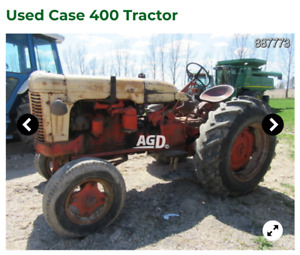 WANTED: Looking for a case 400 tractor.