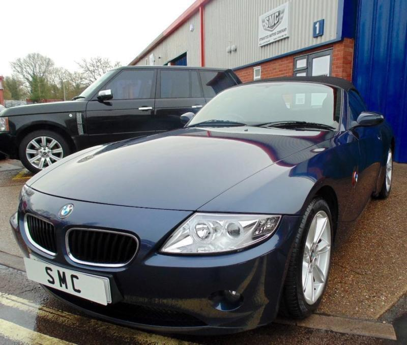 Bmw Z4 Manual Transmission: 2005 BMW Z4 2.2 I SE 2dr