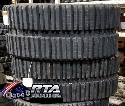 Two Rubber Tracks For Bobcat 863 W Loegring Vts 450x86x56 Multi Bar Tread