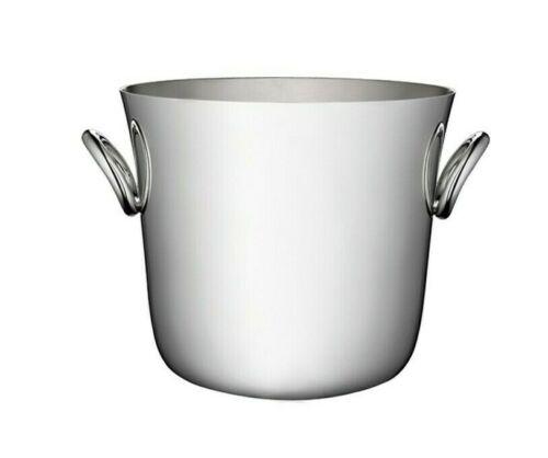 Vertigo by Christofle Paris France Silver Plate Ice Bucket Cooler - New
