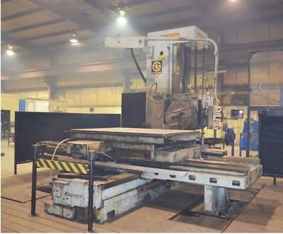 1975 4 Giddings Lewis E4f-rt Boring Mill Built In Power Rotary Table