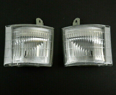 MITSUBISHI CANTER 1994-2001 PAIR FRONT INDICATORS TURN LIGHTS LAMP LH+RH SET