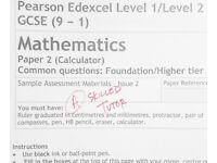 Experienced, Friendly Maths Tutor for NEW GCSE 9-1 SPECIFICATION