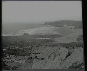 07-Lantern-Glass-Slide-Widemouth-Cornwall-Photo-pre-1920s