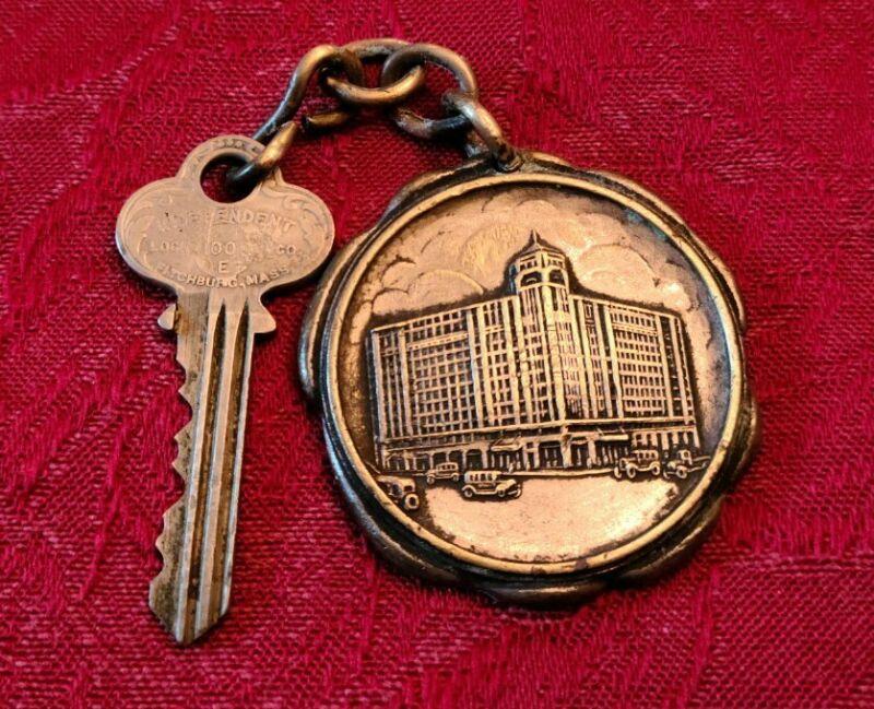 Hotel Faust Rockford IL Room Key & Fob