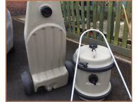 Aquaroll 40 Litre Fresh Water And Wastemaster Containers Caravan Aqua roll.