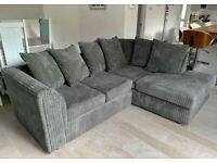 BRAND NEW COUCHES ON SALE DYLAN JUMBO CORD CORNER SOFA AVAILABLE IN BEAUTIFUL COLOURS