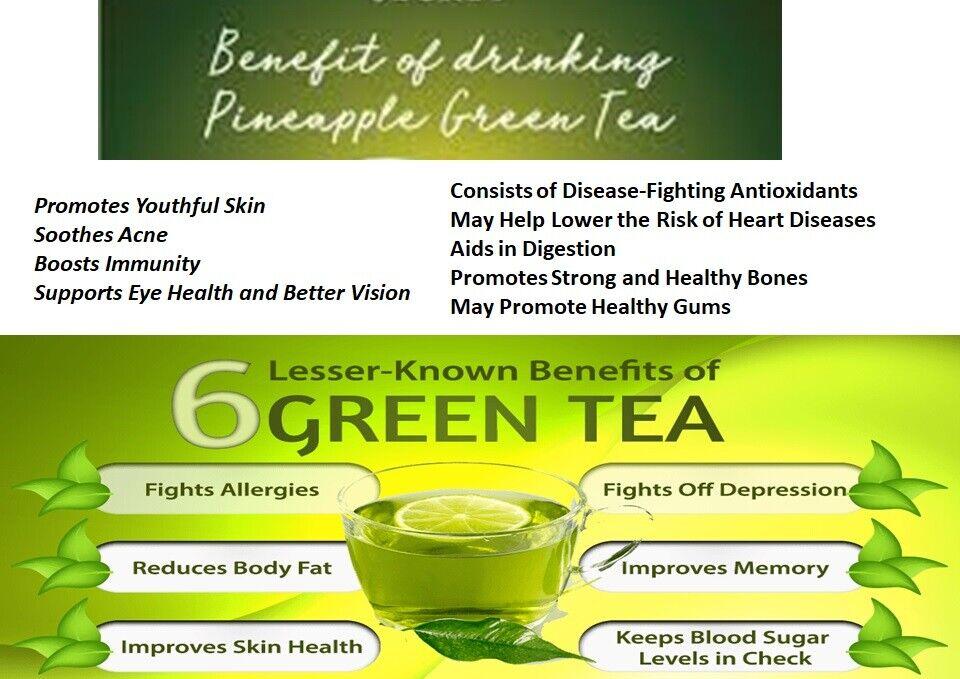 PINEAPPLE GREEN TEA PIÑALIM TEA BASED ON PINEAPPLE GREEN TEA ORIGINAL UNISEX 3