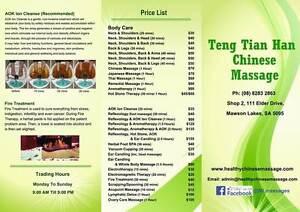Mawson Lakes Chinese  Massage Mawson Lakes Salisbury Area Preview