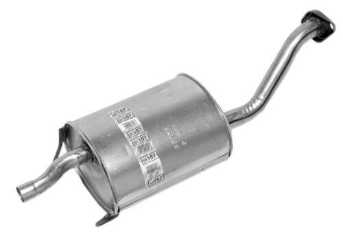 Exhaust Muffler Assembly-Quiet-Flow SS Muffler Assembly fits 92-95 Honda Civic