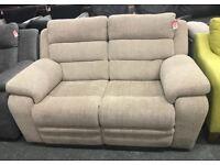 DFS Allons fabric recliner sofa