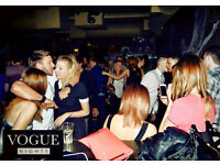 Flyering, promotions and shot selling staff required for busy City Centre Nightclub