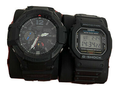 Casio G-Shock GA-1100 AND DW-5600E