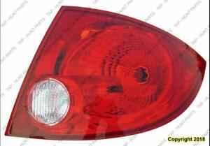 Tail Light Passenger Side Sedan PONTIAC G5 2005-2010