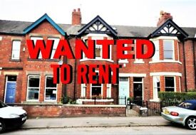 WANTED 3,4 BED HOUSE, FLAT UP TO 850 MONTH