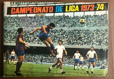 FACSIMIL STICKER ALBUM CROMOS FUTBOL LIGA FHER 73 74 1973 1973 NUEVO...