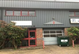 2100 sqft Industrial warehouse unit for rent / lease in Totton Southampton