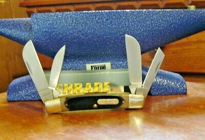Schrade pocket knife Old Timer Congress Saw cut Handle 4OT Free Shipping USA