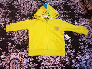 New with tags baby boy hoodie size 12-18 months