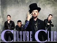x6 Culture Club Tickets - One Night Only at Wembley 14th Dec 2016