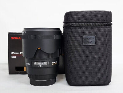 """Sigma EX 85mm f/1.4 HSM DG EX Lens For For Canon """"Mint"""""""
