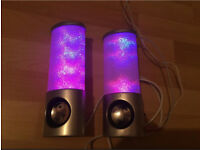 Speaker colours lighting