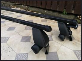 Mont Blanc Roof bars - Fits Various cars without rails.