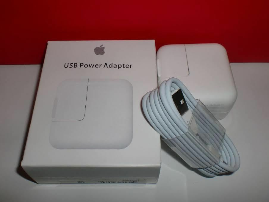 OEM 12W USB Wall Charger & 8 Pin Cable for Apple iPad Mini A