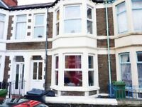 Spacious 5 Bed House in Cathays Available 01/08/18 for £1300pcm
