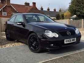 Mercedes C Class Coupe C180 Kompressor High Spec 2006