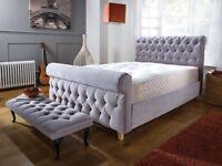 Buckingham sleigh stylish bed