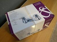 Cooke & Lewis Wave Chrome Bath Mixer Tap NEW