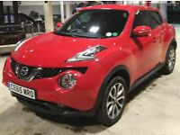 2015 Red Nissan Juke For Sale - Very good condition inside and out