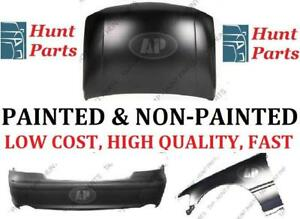 Bumper Fender Hood Rear Front Pare-choc avant arrière Aile Capot Chevrolet Avalanche 2002 2003 2004 2005 2006 2007 2008
