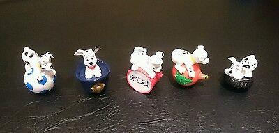 Disney 101 Dalmatians toys / ornaments - set of 5